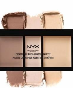 Cream Highlighter & Contour Palette Medium