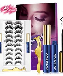 Autenpoo magnetic Eyelashes 10 pairs