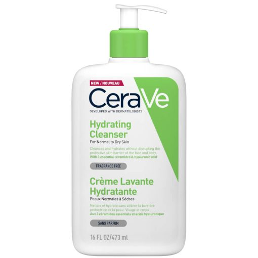 cerave hydrating cleanser for normal to dry skin 473 ml