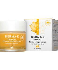 Derma E Vitamin C Intense Night Cream 2 OZ