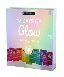 Freeman 12 Days Of Glow Face Mask Palette