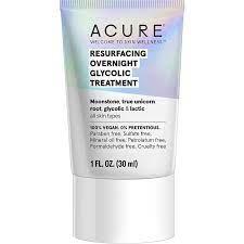 Acure Resurfacing Overnight Glycolic Treatment 10ML