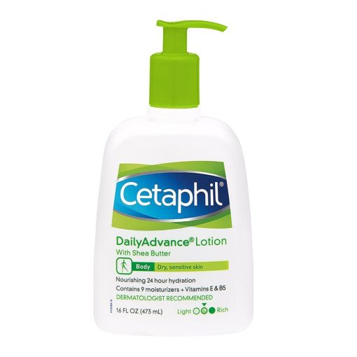Cetaphil Daily Advance Lotion With Shea Butter