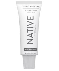 Flouride Free Detoxifying Charcoal Mint Toothpaste