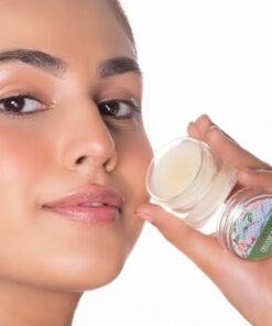 Organic Lip Balm (Peppermint) conatural